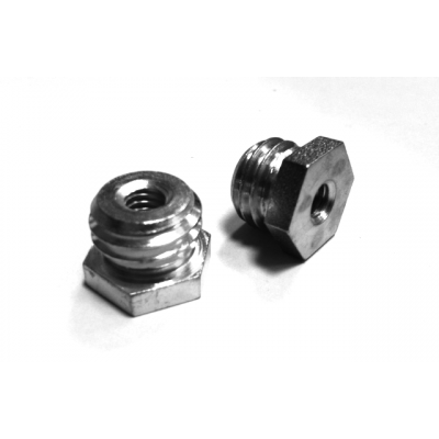 "Adapter 1/4"" - 5/8"", hex 17mm"