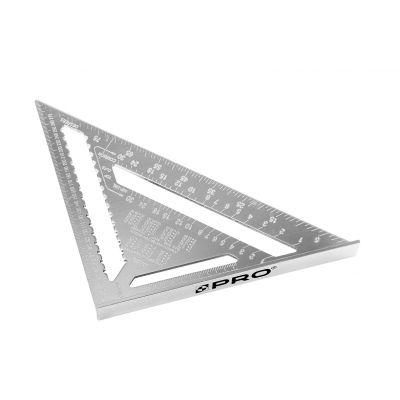 Kątownik aluminiowy stolarski z podstawą 300mm