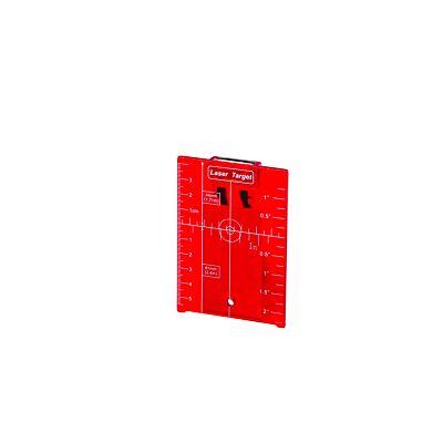 Tarcza celownicza LT-R105 z podpórką i magnesem do laserów czerwonych