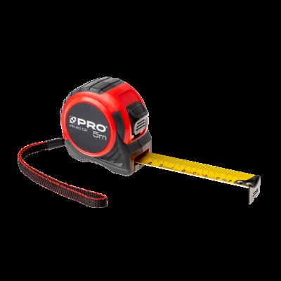 Miara zwijana PR-60-02, hamulec zaciskowy, 5m/25mm