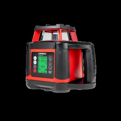 Laser rotacyjny LR-500D (czerwona wiązka, cyfrowy)